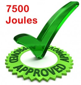 7500joules
