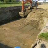 Aanvang tweede deel van het uitgraven
